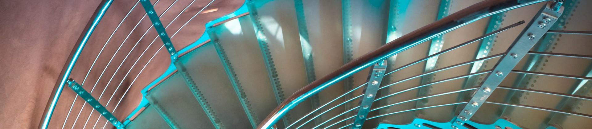 Tripo glazen trappen